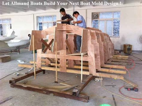boat mold plug for sale boat molds allmand boats boat molds for sale