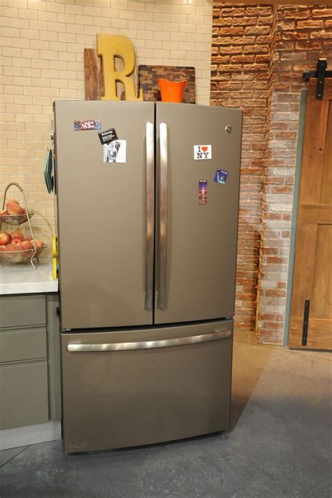 new appliance colors french door refrigerator slate and appliances on pinterest