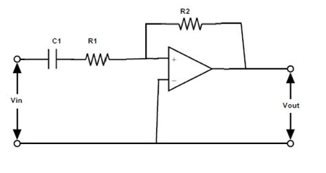 high pass filter using op active high pass filter circuit design and applications