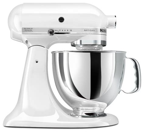 amazon kitchen appliances kitchenaid artisan series 5 quart mixer white