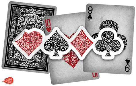 Deck Of Cards Stickers a quot different deck quot of cards sticker stories from