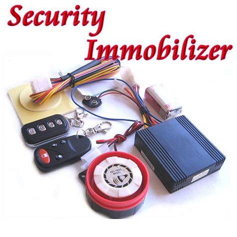 Alarm Motor Immobilizer new alarm security immobiliser motorcycle bike scooter immobilizer lock ebay