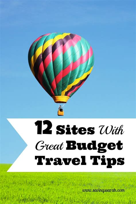 sites  great budget travel tips earning