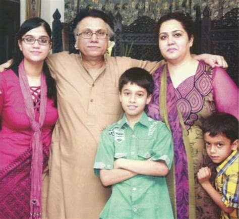 hassan nisar with his family people images & photos