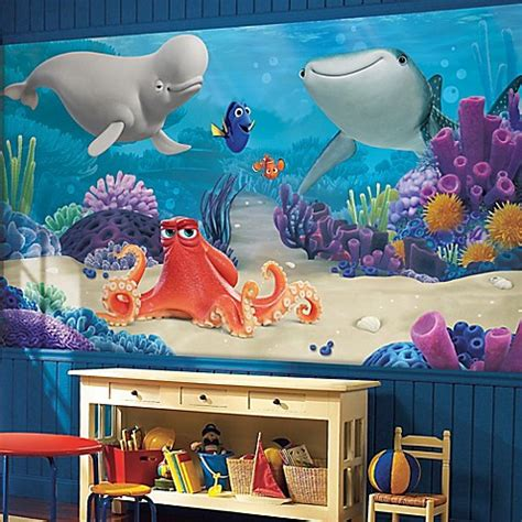 Kaos Finding Dory 6 Tx Oceanseven finding dory xl chair rail prepasted 10 5 foot x 6 foot