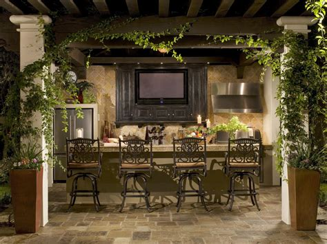 outdoor dining room ideas outdoor bars options and ideas hgtv
