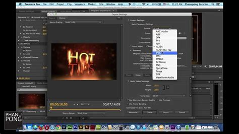 export adobe premiere instagram hottips 3 การ export video จาก adobe premiere pro