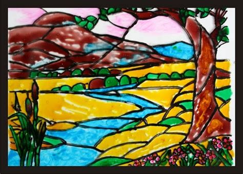 free glass painting scenic photos scenery pictures for glass painting