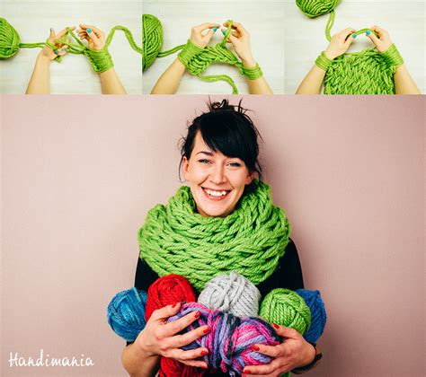 easy arm knitting 25 diy arm knitting ideas and tips diy projects