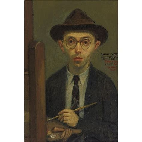 biography of raphael the artist raphael soyer works on sale at auction biography