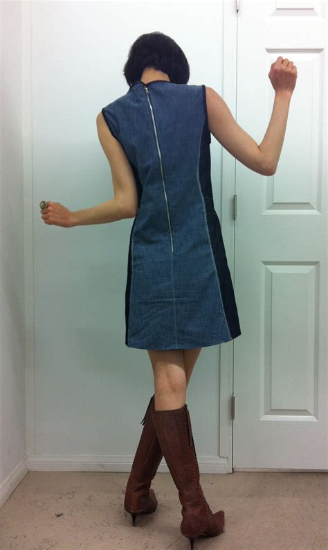 jeans dress pattern stretch denim dress sewing projects burdastyle com