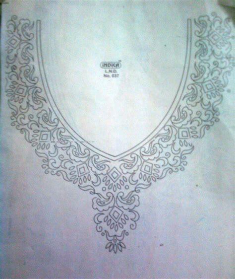 neck embroidery design pattern creative patterns neck designs