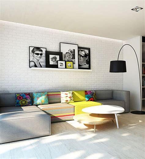 Bilder Im Wohnzimmer by Wandgestaltung Mit Bilderrahmen