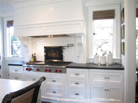 White Kitchen by Classic White Kitchen Backsplashes Classic Casual Home
