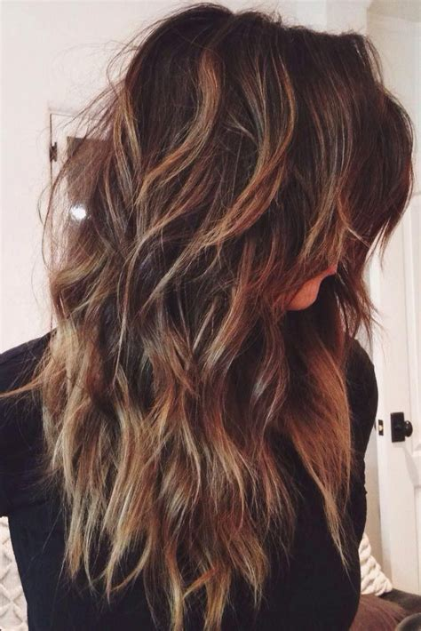 Long Hair Short Layers Pictures Of Color Cuts And Up | 25 best ideas about long layered haircuts on pinterest