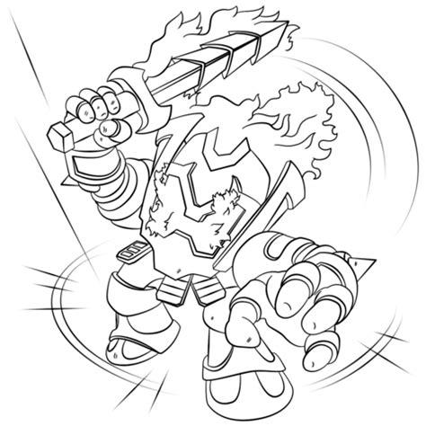 skylanders ignitor coloring page free printable coloring