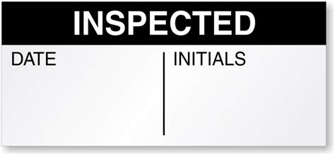 Inspected Ok Sticker Stiker Inspected inspection stickers inspection qc labels