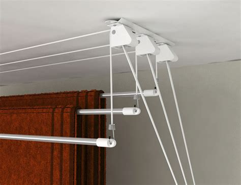 Ceiling Laundry Hanger by Laundry Lift Ceiling Clothes Airer Clotheslines