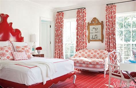 bedroom with red curtains 20 inspiring red rooms making it lovely