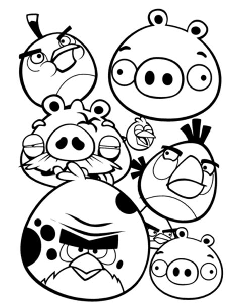 angry birds coloring page | free printable coloring pages