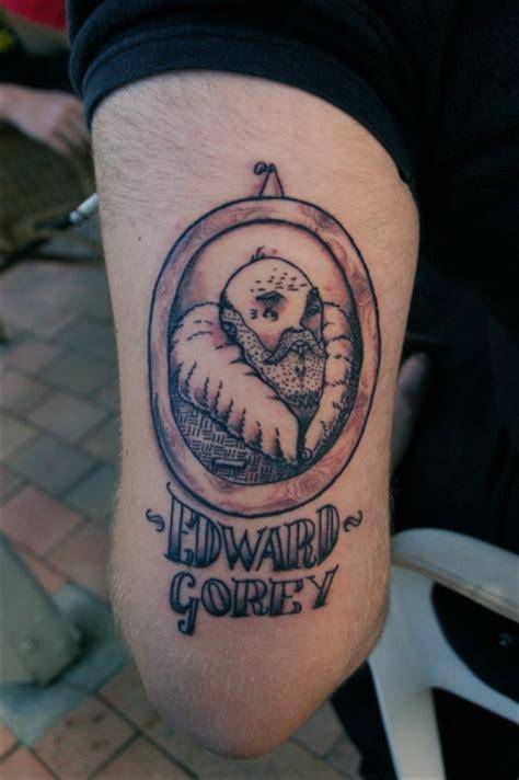 edward gorey tattoo philip s edward gorey by boobookittyfuck on deviantart
