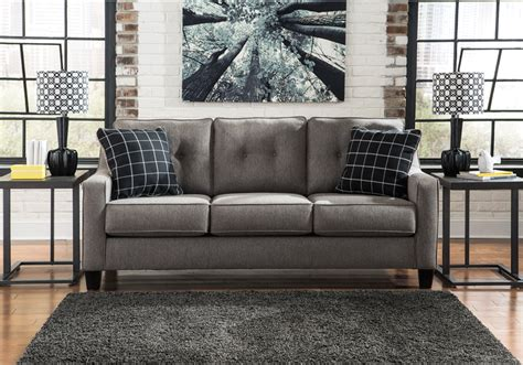 brindon charcoal sleeper sofa brindon charcoal queen sleeper sofa lexington overstock