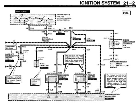 2003 ford ranger xlt ignition wiring diagram wiring