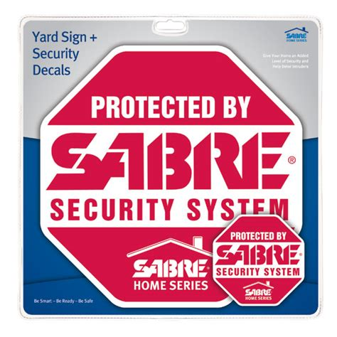 windows security sign in doodle yard sign security decals sabre