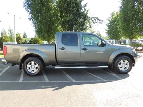 nissan frontier long bed 2007 nissan frontier se 4x4 crew cab long bed 89k