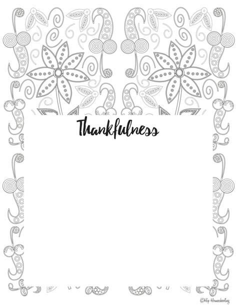 Free Gratitude Journal Template Plus Coloring Page Gratitude Journal Template