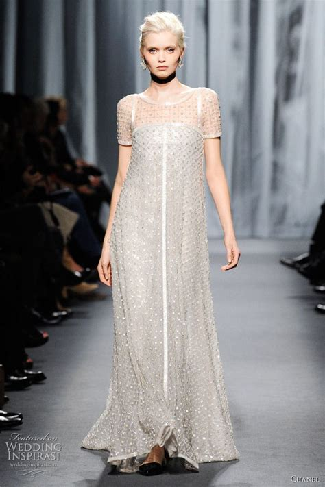 Channel Dress 2 chanel summer 2011 couture wedding bridal gowns and inspiration