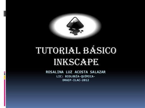 tutorial inkscape vetorização inkscape basico