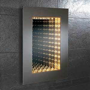 infinity bathroom mirrors hib odyssey infinity mirror modern bathroom mirrors