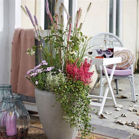 Romantischer Garten Pflanzen by Romantische Pflanzideen F 252 R Balkon Und Terrasse Im Herbst
