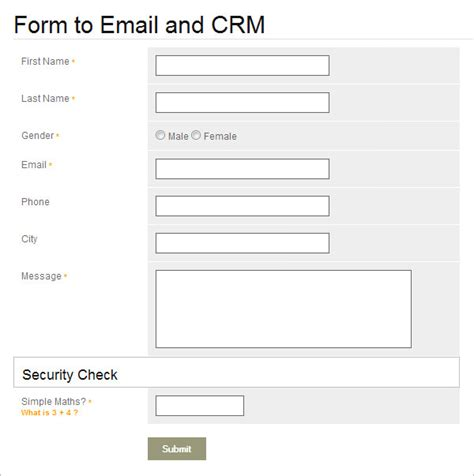 20 Php Contact Form Templates Free Website Themes Php Form Template