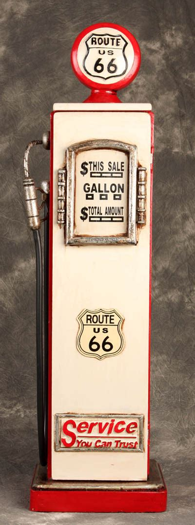 wooden gas pump cabinet globe imports