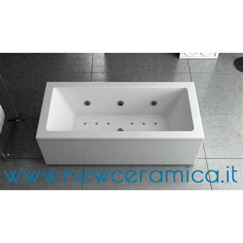 vasche acrilico vasca idromassaggio la quadra 180x100 in acrilico relax design