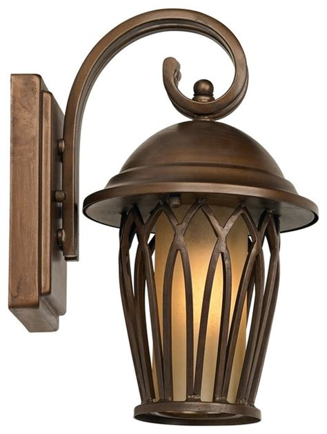 Timberland Outdoor Lighting by Transitional Timberland Arches 11 Quot High Outdoor Wall