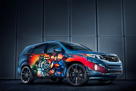 Careerleader Mba Discount by 2013 Kia Sorento Quot Justice League Quot By West Coast Customs