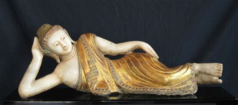 Buddha Reclining by Antiques