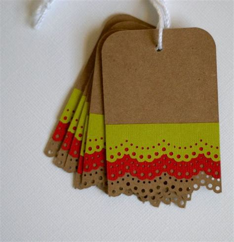 Handmade Gift Tag Ideas - 25 best ideas about gift tags on