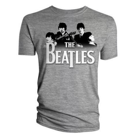 Sweatshirt The Beatles Grey official t shirt the beatles grey band logo all sizes