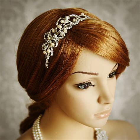 best 25 bridal headbands ideas on wedding headband hairstyles pearl headband and
