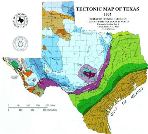 map of texas fault lines texas fault line map