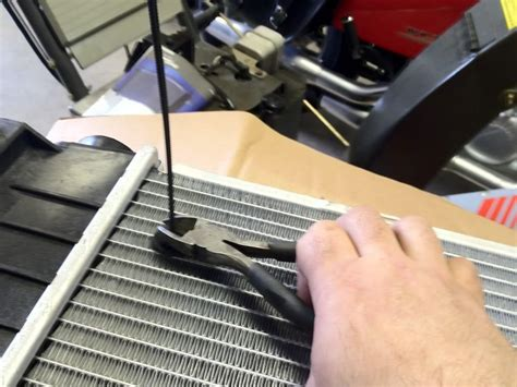 how to reverse a radiator fan diy radiator replacement and mounting of e fans by