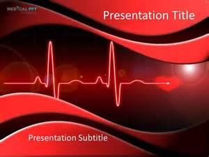 heart cardiology powerpoint template authorstream