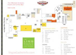 Caesars Palace Las Vegas Floor Plan the linq casino property map and layout