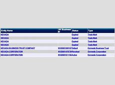 Nevada Secretary of State - NV SOS Business Search ... Nevada Sos Business Entity