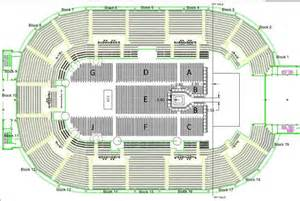 Capital Fm Arena Floor Plan by Nottingham Arena Seating Plan Gallery