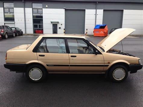 1985 Toyota Corolla For Sale 1985 Toyota Corolla Gl For Sale For Sale In Swords Dublin